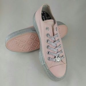 Converse Womens x Miley Cyrus Pink Dogwood Size 7